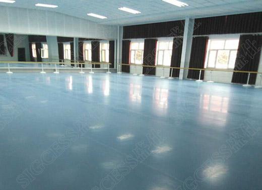 盛仕舞蹈教室地胶安装效果